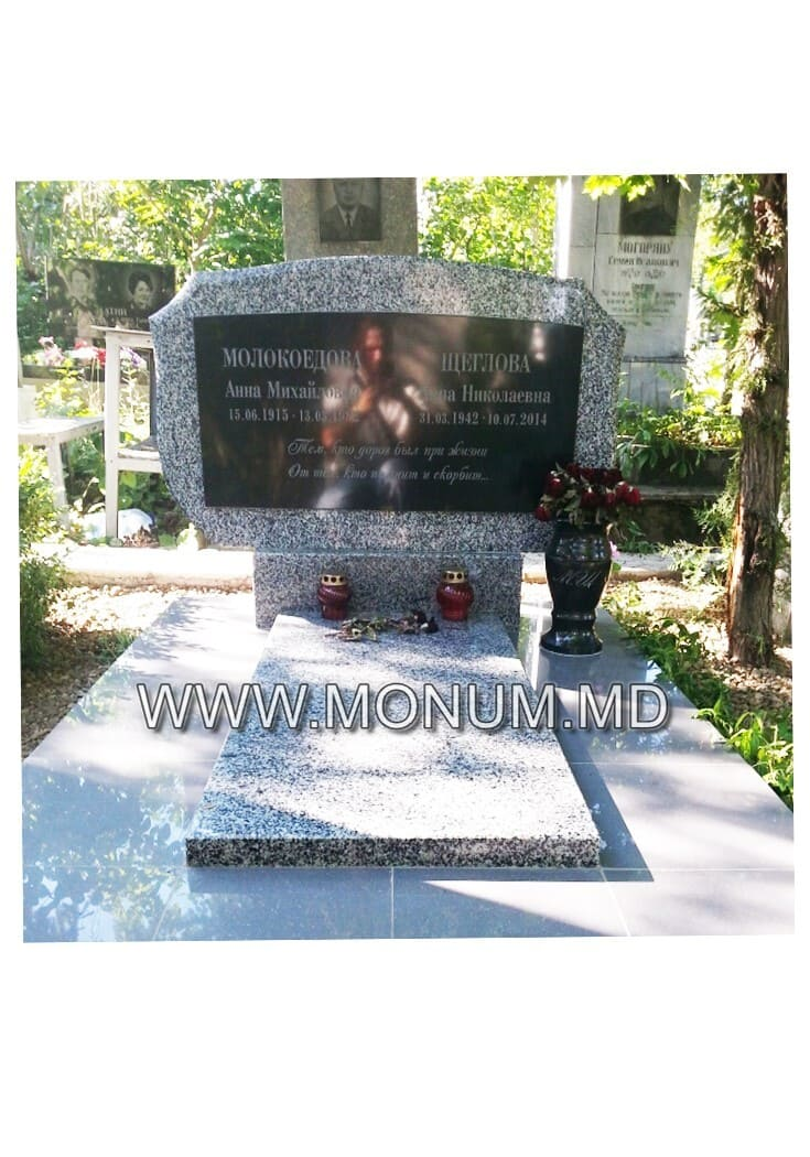 Памятник гранит MD3 100x60x6