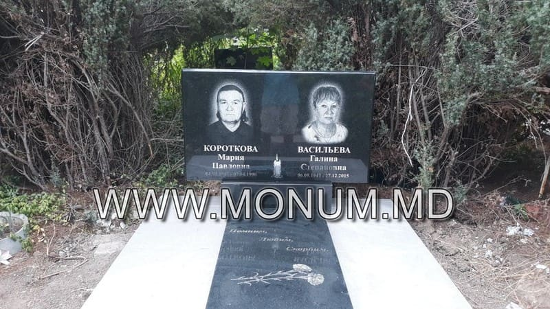Памятник гранит MD31 120x60x8