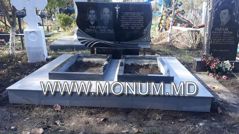 Памятник гранит MD34 120x70x8