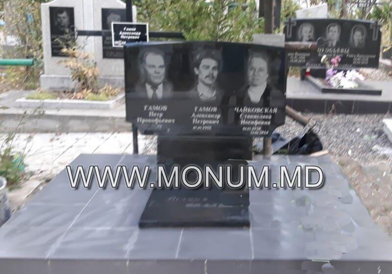Памятник гранит MD7 120x60x8