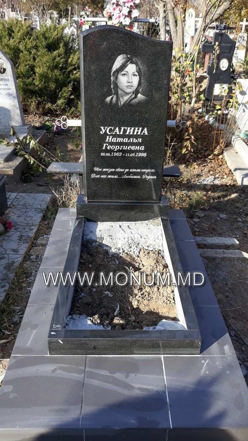 Памятник гранит MS35 120x60x6