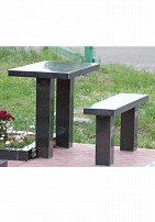 Столы и стулья гранит SG4
