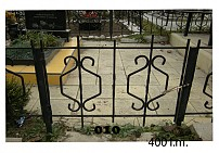Ограды металлические G10