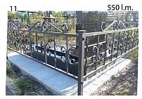 Ограды металлические G11