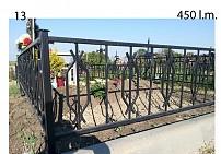 Ограды металлические G13