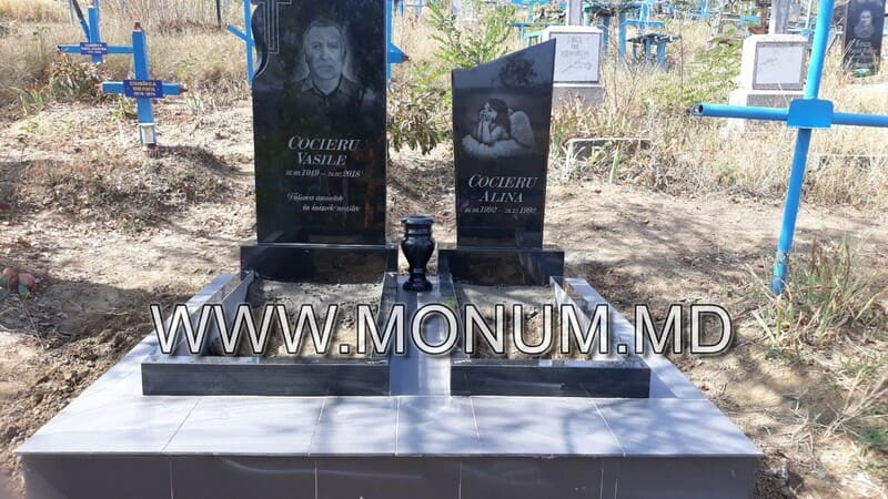 Monument granit MD10 100x50x6
