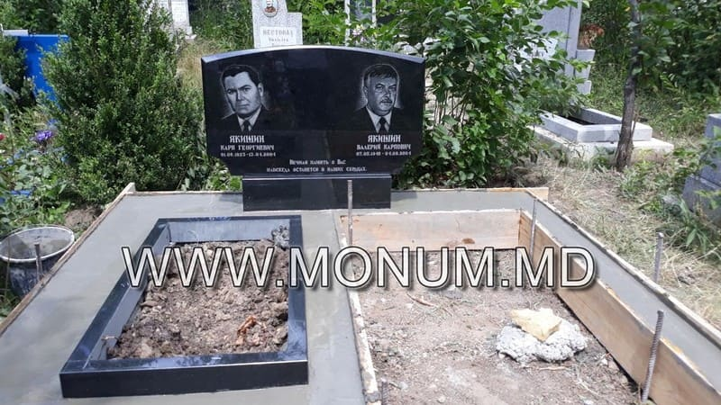Памятник гранит MD16 120x60x6