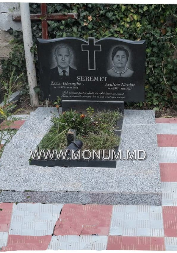 Monument granit MD26 100x60x6