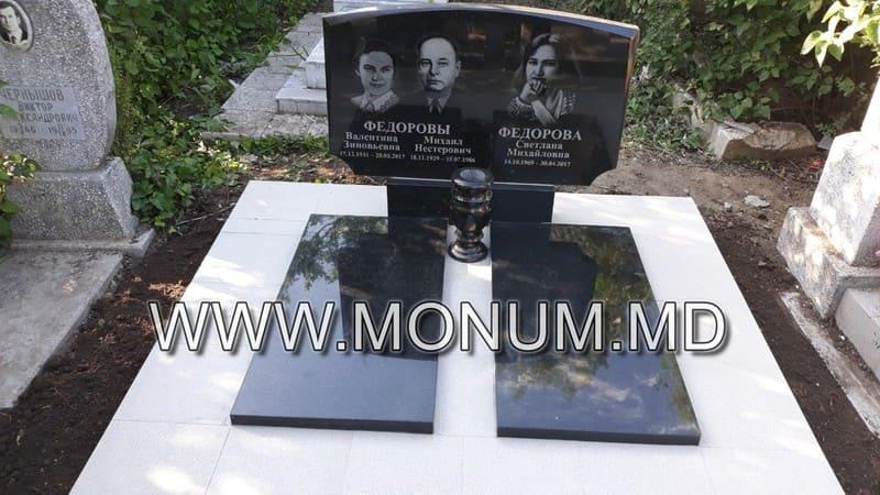 Памятник гранит MD37 100x60x6
