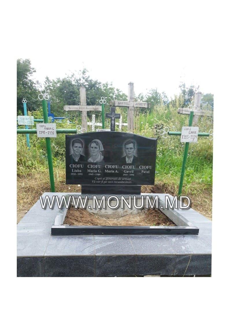 Памятник гранит MD40 120x70x8