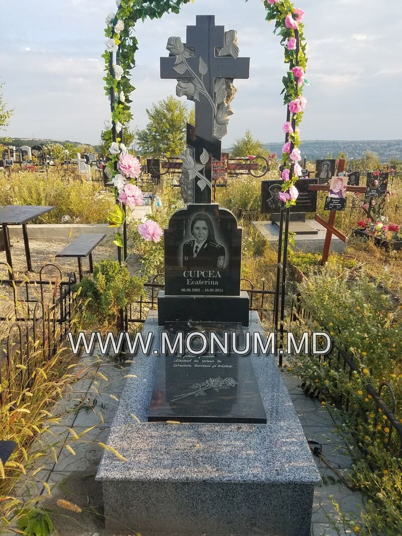 Памятник гранит MS16 60x50x8