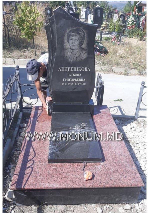Памятник гранит MS41 120x60x8