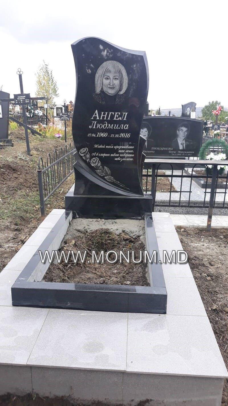 Памятник гранит MS43 80x40x6